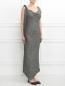Платье-макси ассиметричного кроя Maison Martin Margiela  –  Модель Верх-Низ