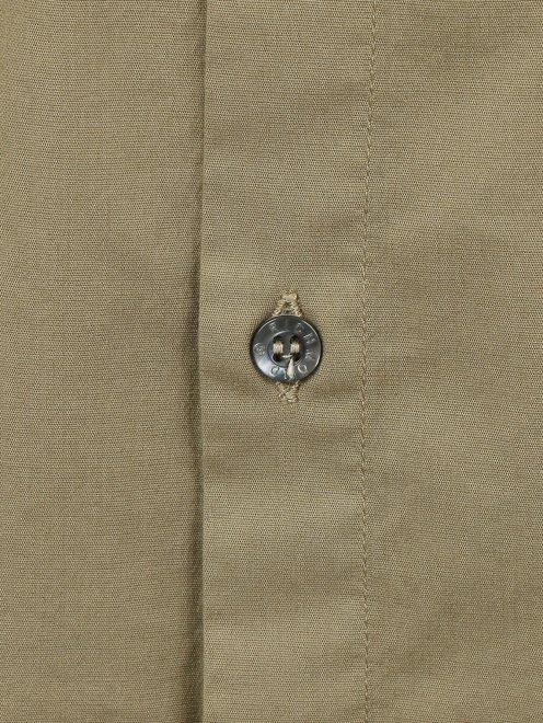 Рубашка из хлопка с накладными карманами - Деталь1