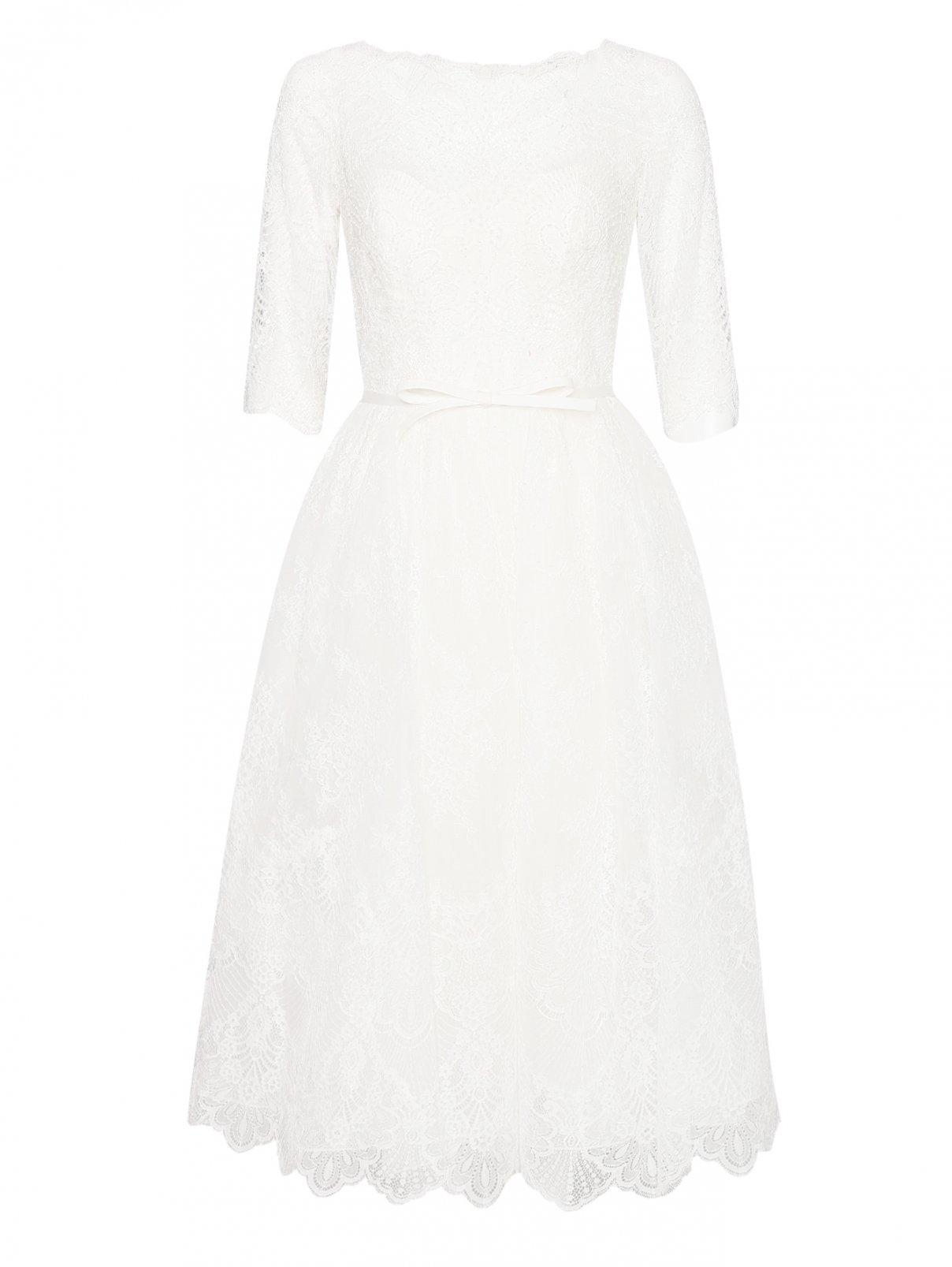 Платье кружевное с вышивкой Rosa Clara  –  Общий вид