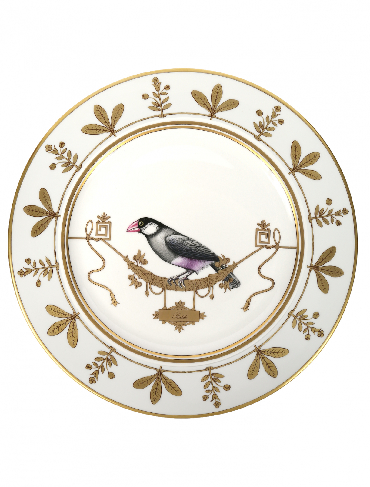Блюдо круглое с узором Richard Ginori 1735  –  Общий вид