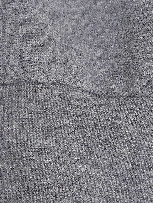 Платье трикотажное с меховыми карманами Il Gufo - Деталь