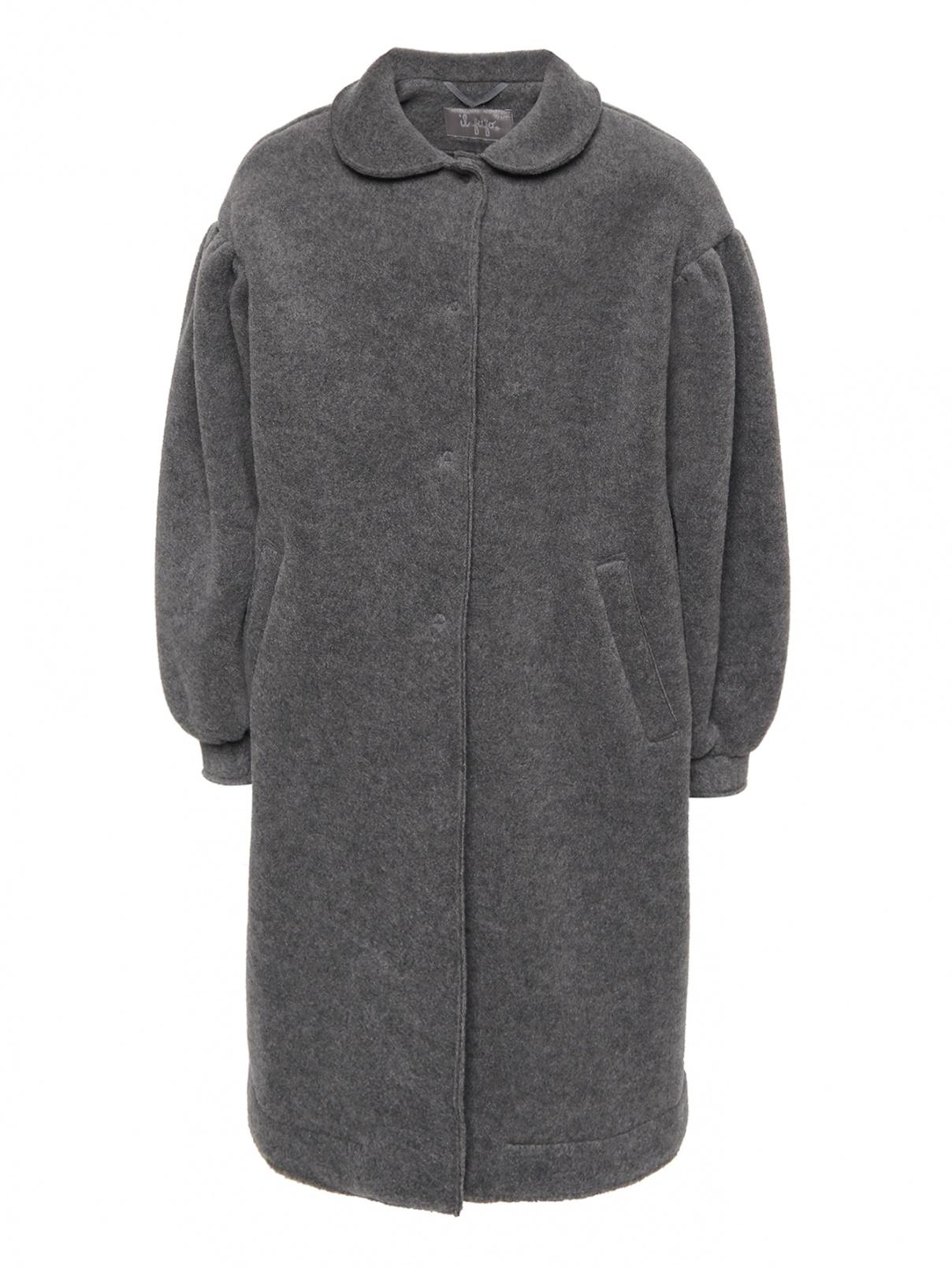 Пальто с рукавом-фонарик Il Gufo  –  Общий вид