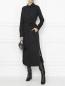 Платье-миди из хлопка с поясом Max Mara  –  МодельОбщийВид