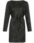 Платье-мини из жаккарда с узором Marina Rinaldi  –  Общий вид
