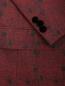 Пиджак однобортный из шерсти с узором Etro  –  Деталь