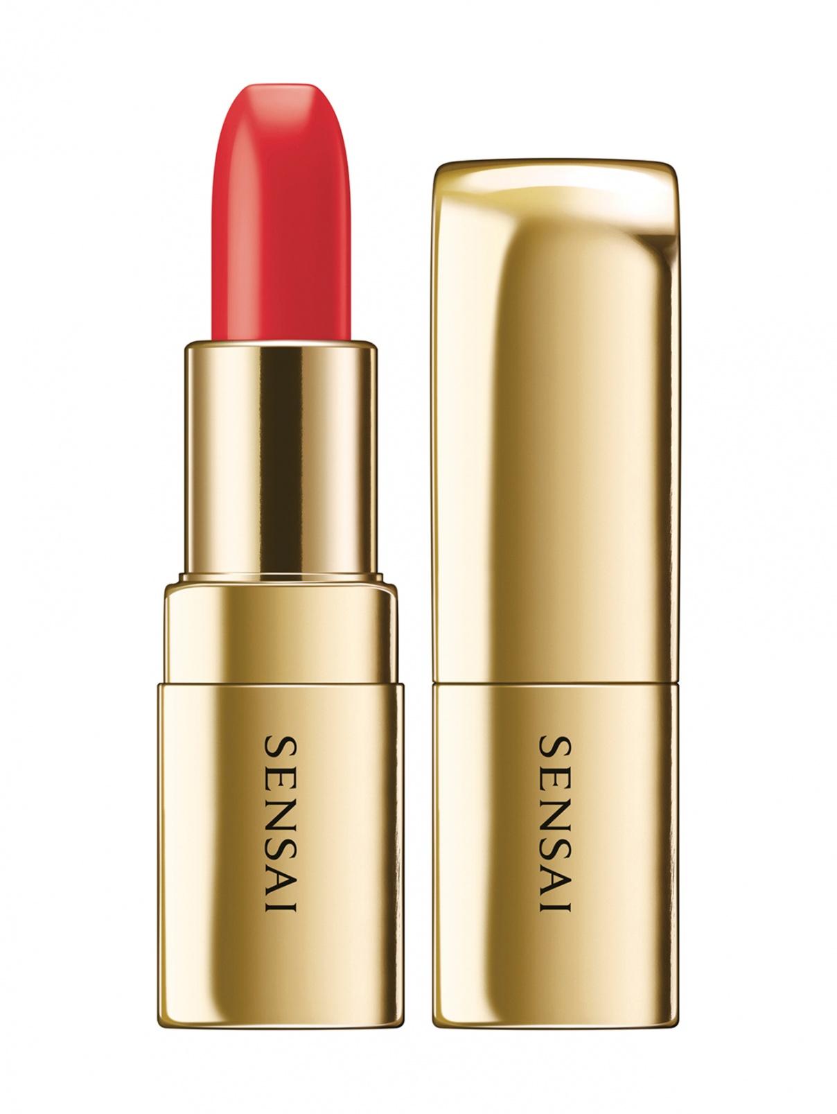 Помада The Lipstick оттенок - 05 HIMAWARI ORANGE Makeup Sensai  –  Общий вид