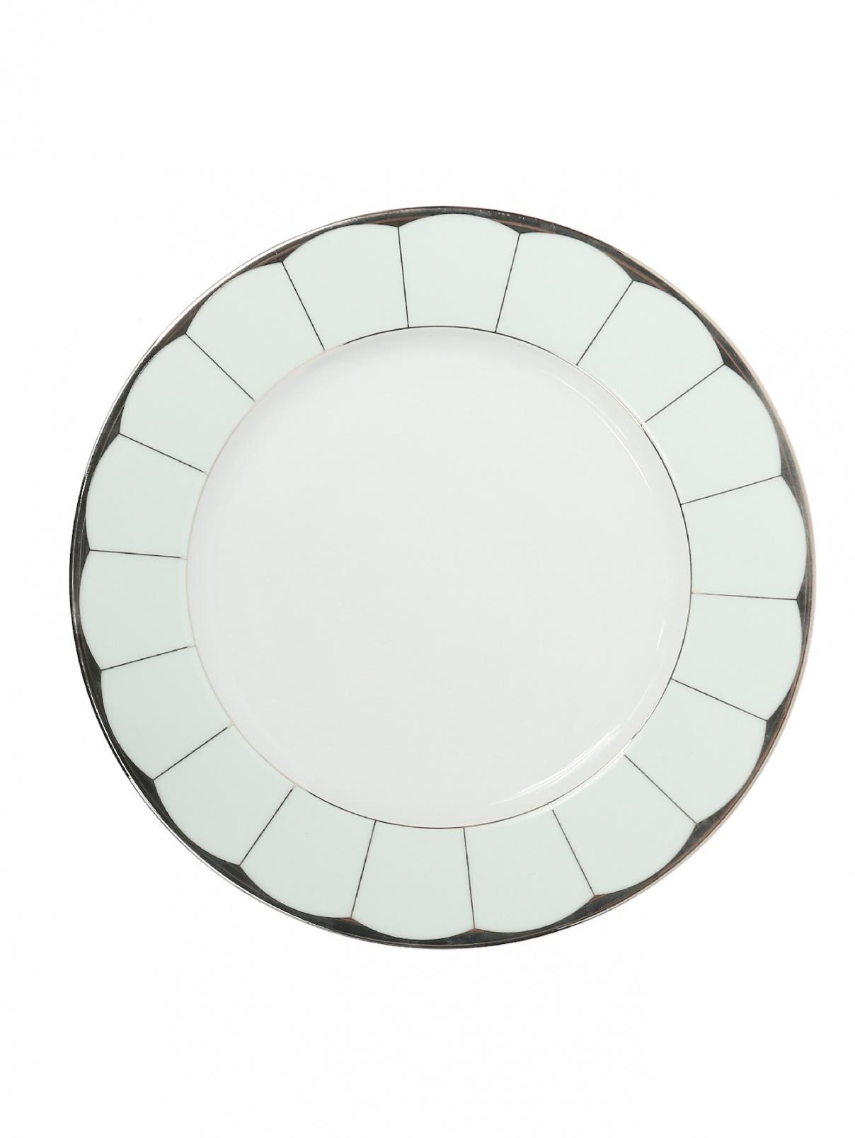 Тарелка десертная из фарфора с окантовкой Haviland  –  Общий вид