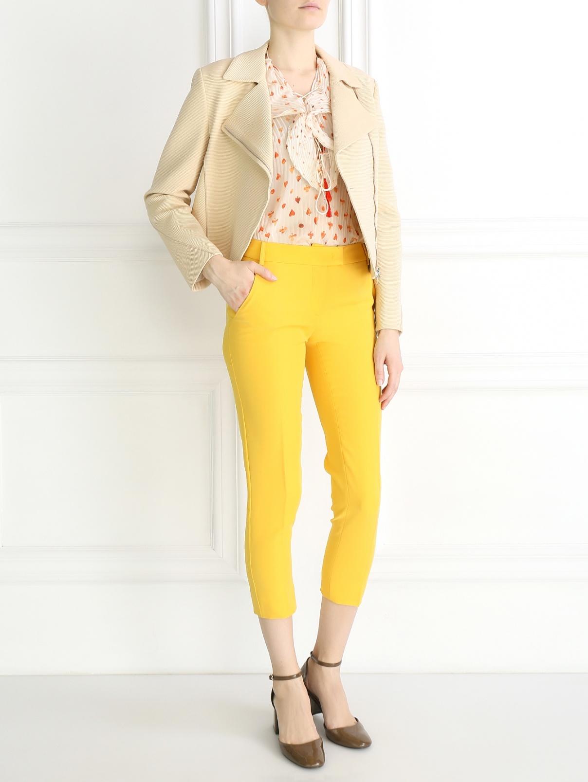 Укороченные брюки Moschino Cheap&Chic  –  Модель Общий вид