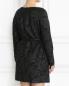 Платье-мини из жаккарда с узором Marina Rinaldi  –  Модель Верх-Низ1