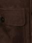 Куртка из замши с накладными карманами Moorer  –  Деталь1