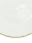 Блюдце чайное с рельефным узором и золотой окантовкой Richard Ginori 1735  –  Деталь1