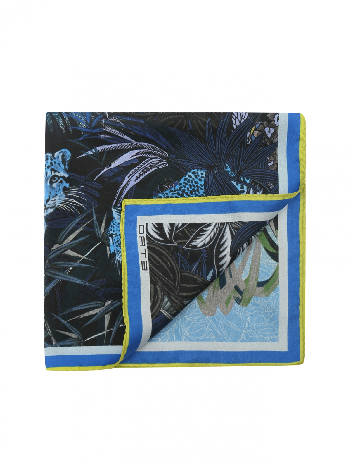 Платок из шелка с узором Etro  –  Общий вид