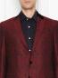 Пиджак однобортный из шерсти с узором Etro  –  МодельОбщийВид1