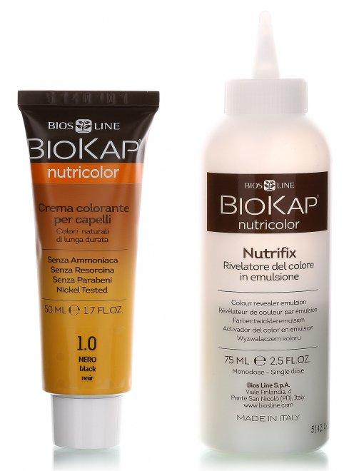 Краска для волос - Чёрный 1.00, Hair Care, 140ml BIOKAP - Общий вид