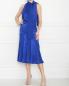 Платье из шифона и шелка с бантом Elisabetta Franchi  –  МодельОбщийВид