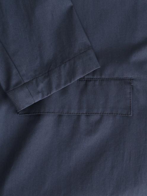 Легкий однобортный пиджак из хлопка  - Деталь