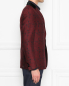 Пиджак однобортный из шерсти с узором Etro  –  МодельВерхНиз2