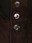 Куртка из замши с накладными карманами Moorer  –  Деталь