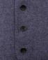 Жилет из шерсти со значком LARDINI  –  Деталь