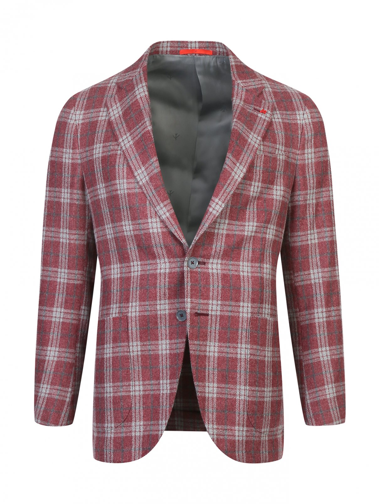 Пиджак из шерсти Isaia  –  Общий вид