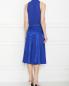Платье из шифона и шелка с бантом Elisabetta Franchi  –  МодельВерхНиз1