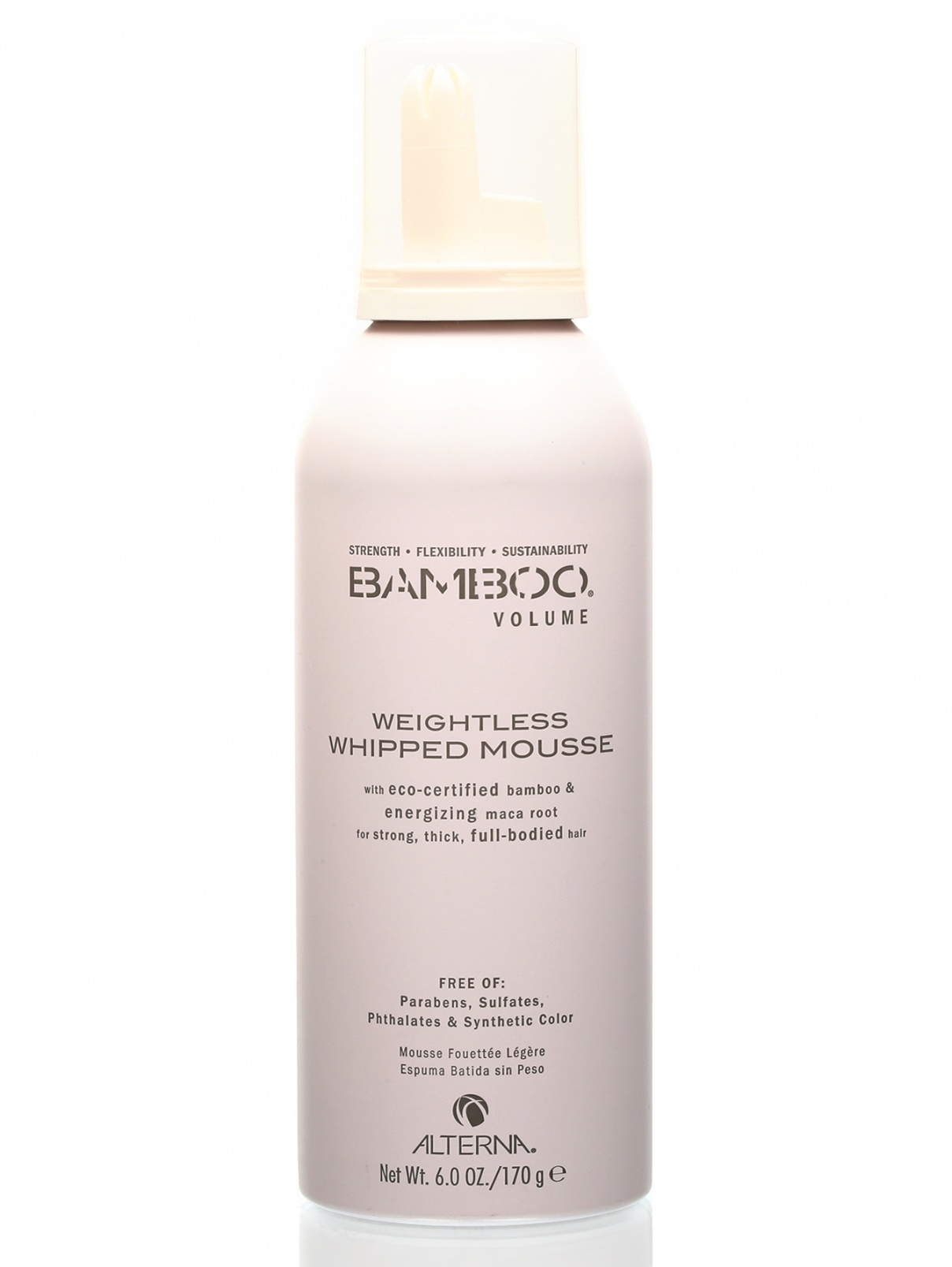 Невесомый мусс для объема - Bamboo, Hair Care ALTERNA  –  Общий вид