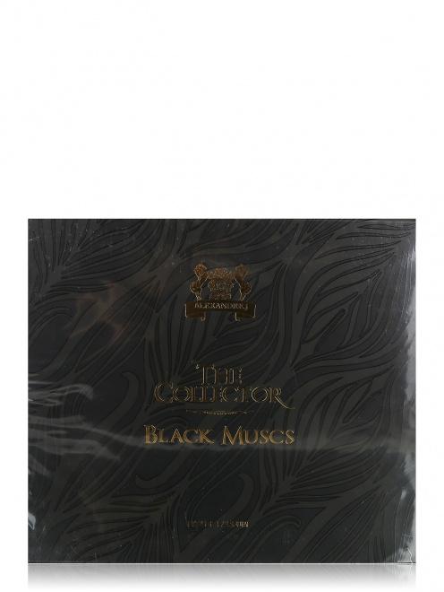 """Набор """"Черный Мускус"""" 100 мл и 6*8 мл, Collector Alexandre.J - Общий вид"""