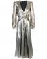 Платье-макси из смешанного шелка Alberta Ferretti  –  Общий вид