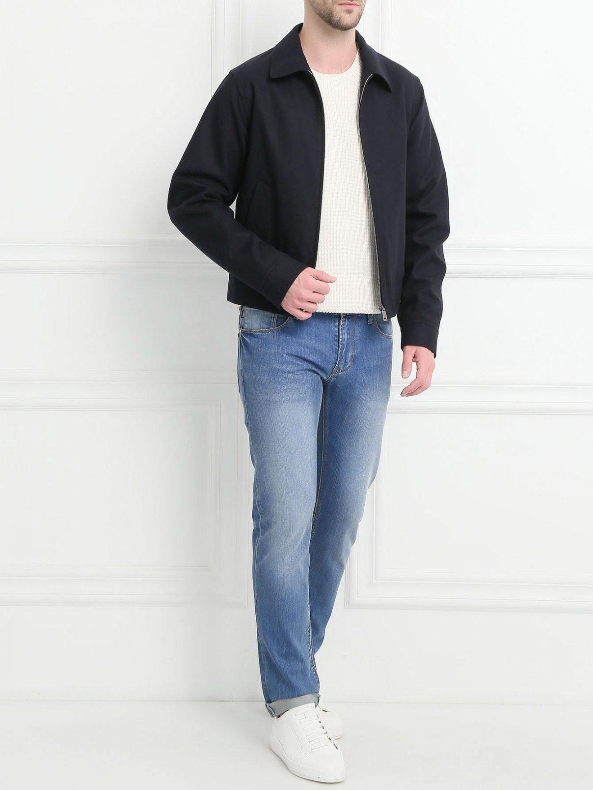 Куртка из шерсти на молнии Jil Sander  –  Модель Общий вид