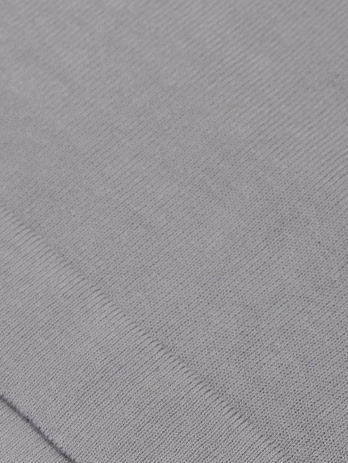 Футболка из хлопка Kangra Cashmere - Деталь1