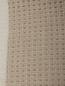 Плед из фактурной шерстяной ткани с бахромой 140 x 200 Agnona  –  Деталь