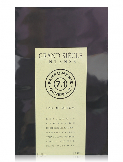 Парфюмерная вода 50 мл Grand Siecle Intense Generale Parfumerie Generale Parfumerie - Обтравка2