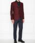 Пиджак однобортный из шерсти с узором Etro  –  МодельОбщийВид
