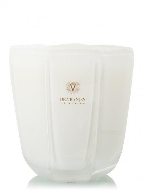 Свеча Ginger Lime Pearl White 500г Home Fragrance Dr. Vranjes - Общий вид