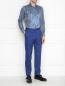 Рубашка из хлопка с принтом пейсли Etro  –  МодельОбщийВид