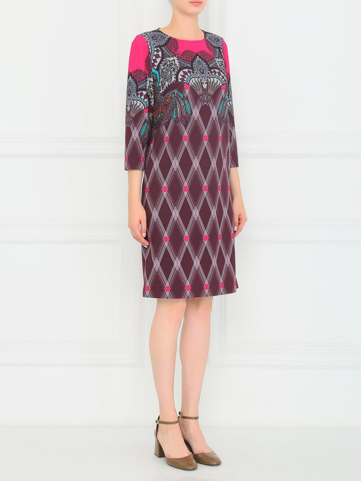 Платье-джерси с абстрактным узором Etro  –  Модель Общий вид
