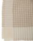 Плед из фактурной шерстяной ткани с бахромой 140 x 200 Agnona  –  Обтравка2