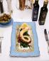 Осьминог на гриле со шпинатом BoscoCafe  –  Общий вид
