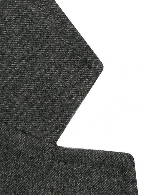 Пиджак из шерсти однобортный - Деталь1
