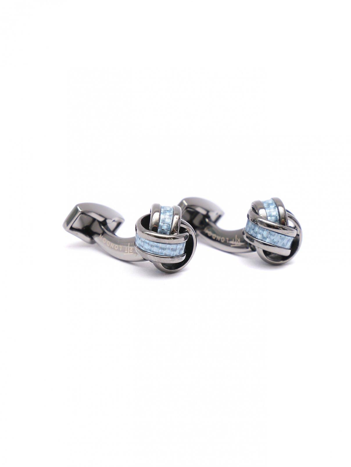 Запонки из металла Tateossian  –  Общий вид