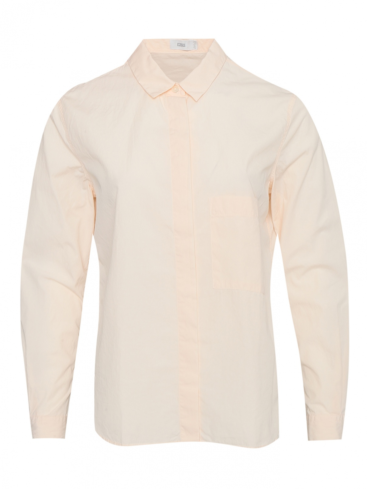 Рубашка из хлопка с карманом CLOSED  –  Общий вид