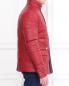 Стеганая куртка из кожи с боковыми карманами Bosco Fresh  –  Модель Верх-Низ1