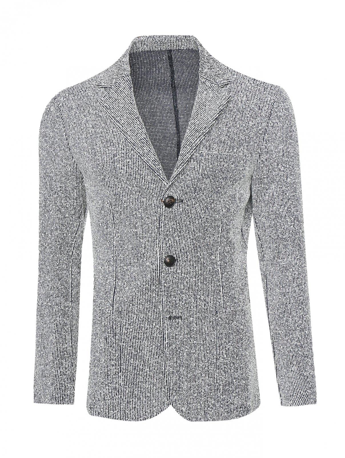 Пиджак однобортный из хлопка Pal Zileri  –  Общий вид