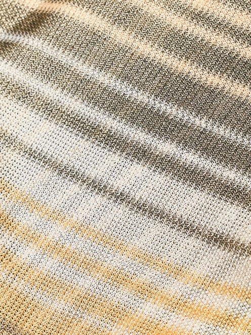 Пляжная юбка с узором полоска - Деталь1