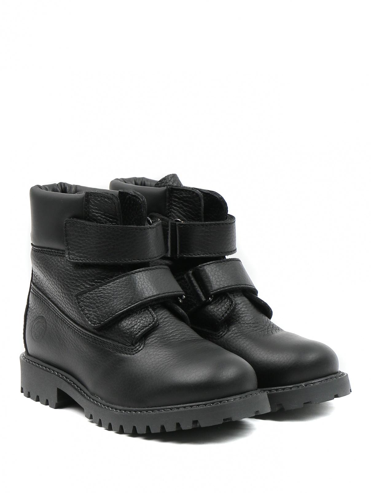 Ботинки из кожи Zecchino d`Oro  –  Общий вид