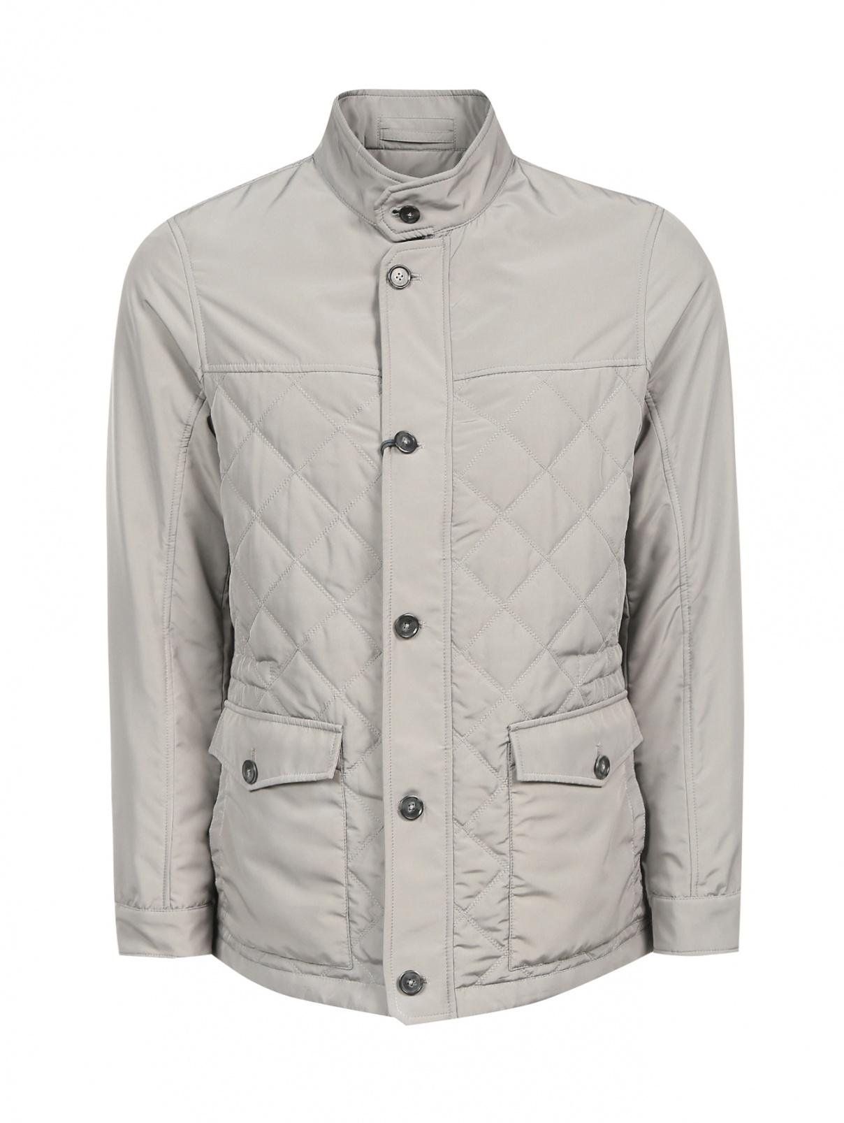 Куртка стеганая на молнии Pal Zileri  –  Общий вид