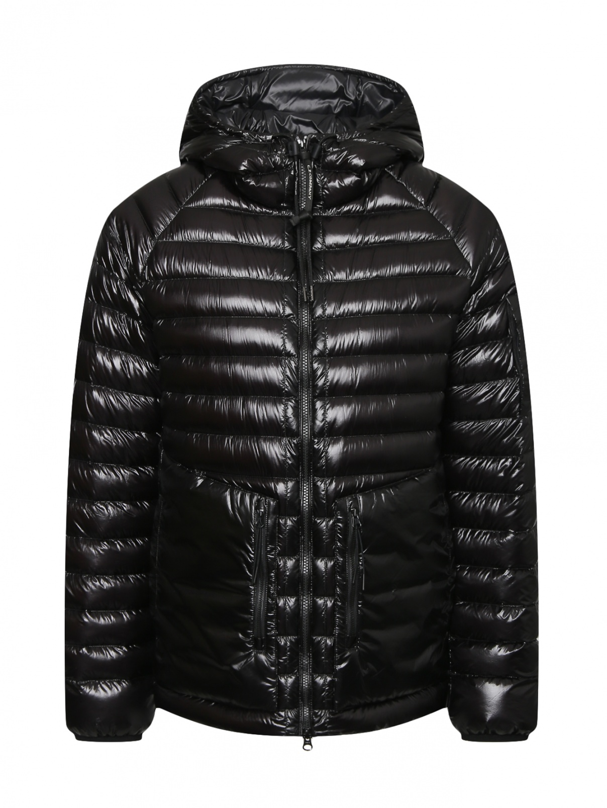 Пуховая куртка с накладными карманами C.P. Company  –  Общий вид