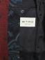 Пиджак однобортный из шерсти с узором Etro  –  Деталь2