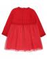 Платье трикотажное с пышной юбкой Aletta  –  Обтравка1
