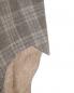 Пиджак из льна и шерсти в клетку Brooks Brothers  –  Деталь1